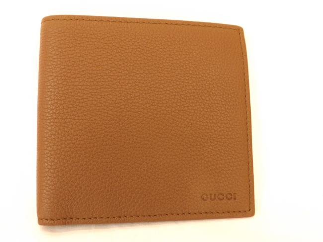 Item - Nut Brown Textured Leather Calf Bifold Large Wallet #150413 Men's Jewelry/Accessory
