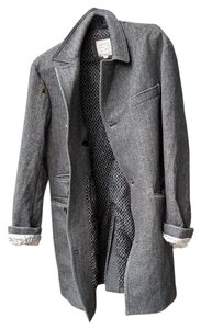 Billy Reid Wool Oversized Pea Coat