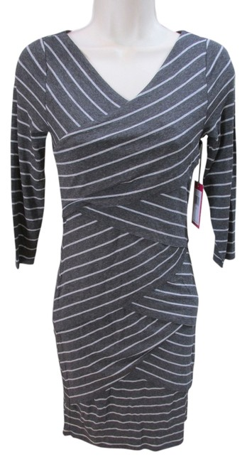 Preload https://item1.tradesy.com/images/vince-camuto-greywhite-artic-stripe-bandage-knee-length-workoffice-dress-size-petite-2-xs-2336185-0-0.jpg?width=400&height=650