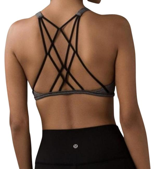 Item - Gray Athletica Free To Be Zen Activewear Sports Bra Size 8 (M, 29, 30)
