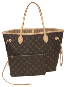 Louis Vuitton Neverfull Neverfull Neverfull Mm Classic Neverfull With Pouch Tote in Monogram