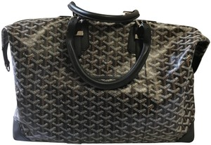 Goyard Chevron Black Travel Bag