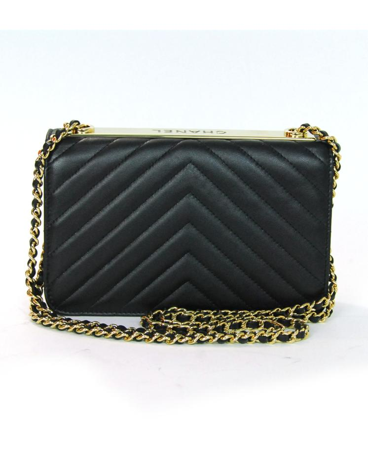 5c0ec0fef4589d Chanel Woc Wallet On A Chain Wallet Chevron Cross Body Bag Image 10.  1234567891011