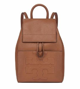 Tory Burch Leather Logo Rare Backpack