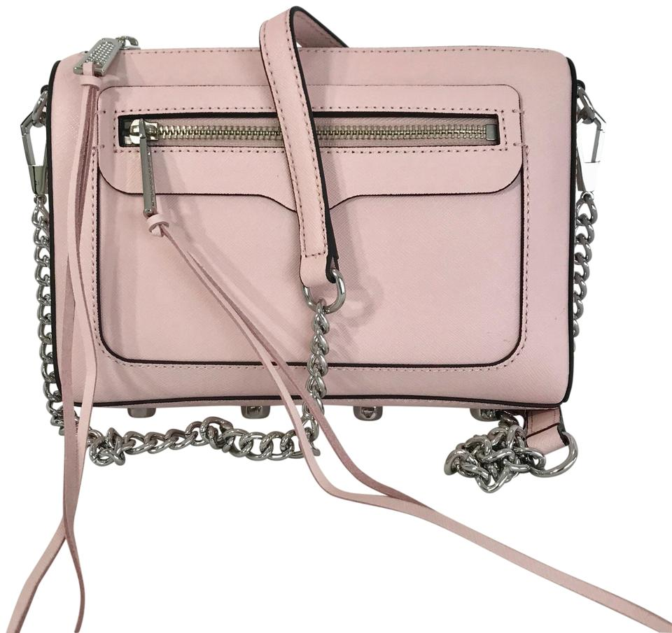 ff0a88c90288 Rebecca Minkoff Avery Exclusive Peony   Silver Leather Cross Body ...