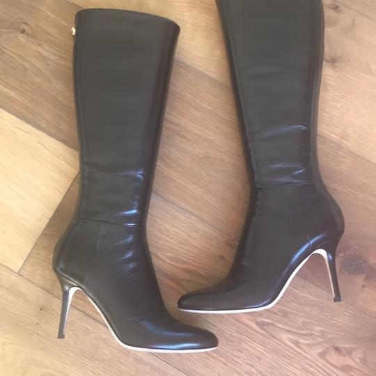 Jimmy Choo Kirby Brown Boots Image 2