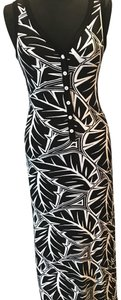 Black & White Maxi Dress by Karen Kane