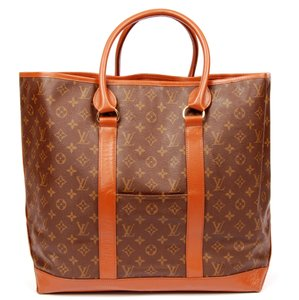 Louis Vuitton Vintage Canvas Sac Weekend Classic Tote in Monogram 6005