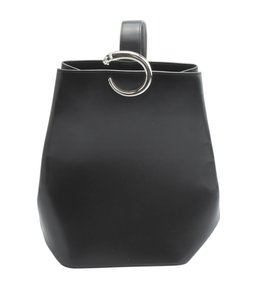 Cartier Leather Tote in Black