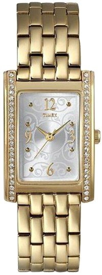 Timex Timex Female Fashion Watch T2N144 Gold Tone Analog