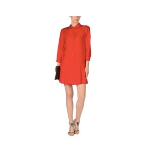 Prada short dress Red Silk Sport Mini Midi on Tradesy