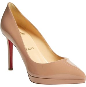 Christian Louboutin Pigalle Pigalle Plato Nude Pumps