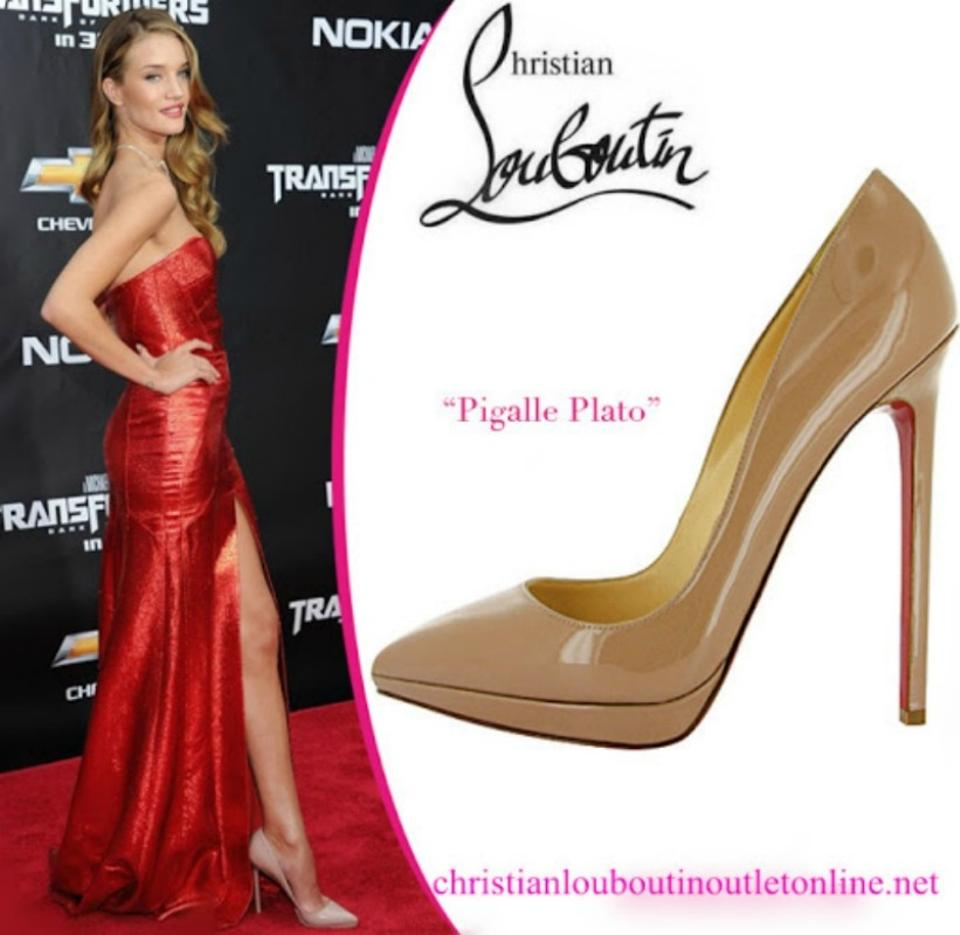 new styles 74728 14a23 Nude Pigalle Plato 120mm Pumps