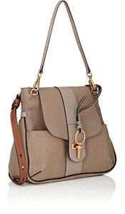Chloé Lexa Shoulder Calfskin Gold Hardware Cross Body Bag