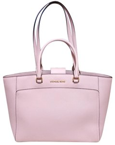 Michael Kors Leather 191935552471 Satchel in pink