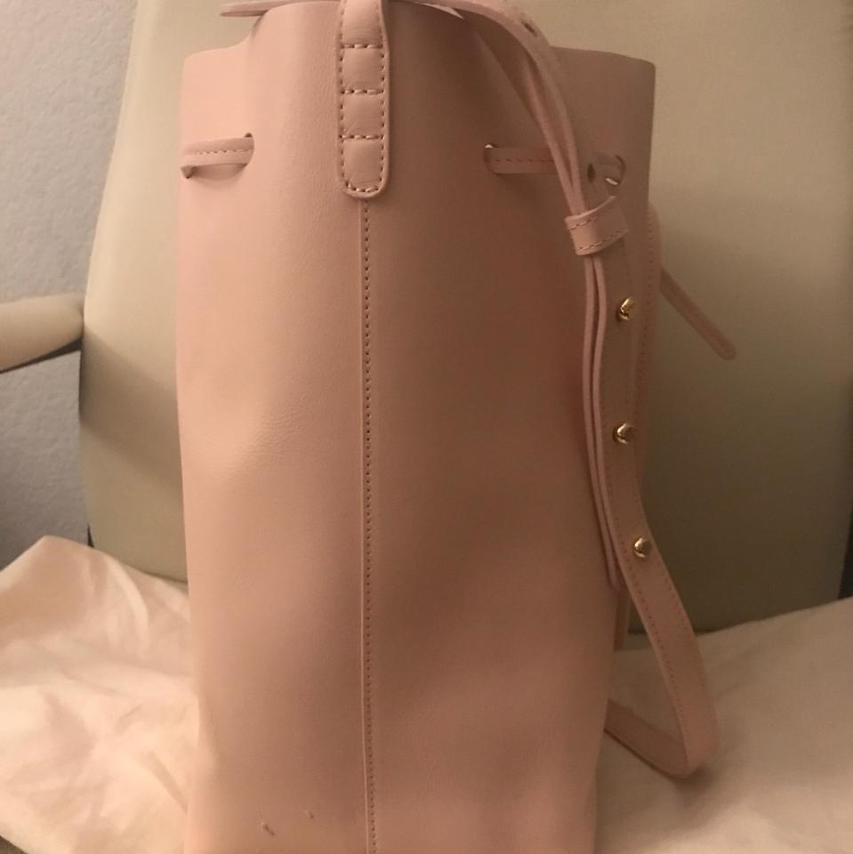 Leather Calfskin Calf Bucket Rosa Body Gavriel Bag Mansur Cross wSfHqan