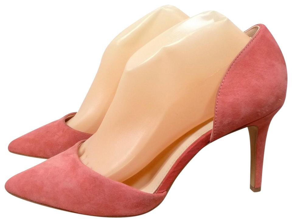 f5631e9d551 Vince Camuto Dusty Rose Suede Heel Pumps Size US 8.5 Regular (M