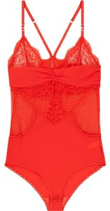 Stella McCartney Gift Sexy Bodycon Girlfriend Bodysuit Top red