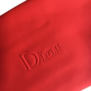 Dior Rubberized Cosmetic Bag