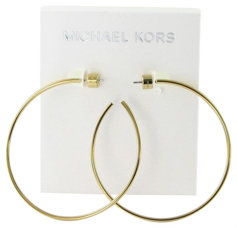 Michael Kors Mchael Large Delicate Hoop Earrings Mkj4163791