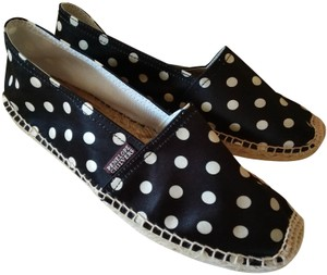 Penelope Chilvers Black white natural Flats