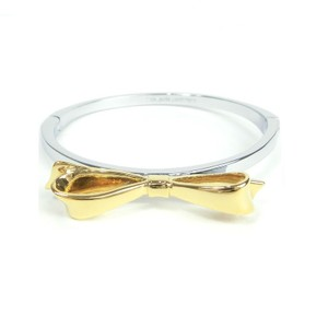 "Kate Spade Kate Spade O0RU2343 ""Love Notes"" Silver/Gold tone Bangle Bracelet"