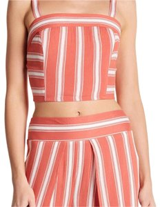 Band of Gypsies Top Coral/Ivory