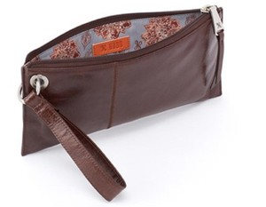 Hobo International Wristlet in Espresso