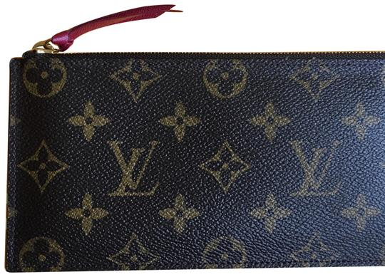 Preload https://item3.tradesy.com/images/louis-vuitton-brown-pink-felicie-pochette-pouch-mini-cosmetic-bag-23366337-0-1.jpg?width=440&height=440
