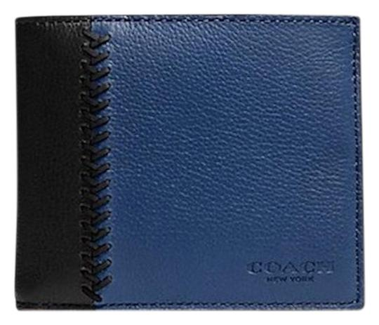 Preload https://item2.tradesy.com/images/coach-black-indigo-compact-id-in-baseball-stitch-leather-wallet-23366351-0-1.jpg?width=440&height=440