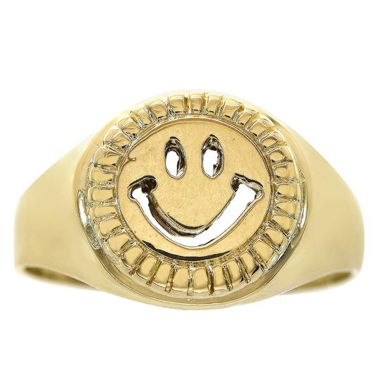 Preload https://img-static.tradesy.com/item/23366352/avital-and-co-jewelry-yellow-gold-14k-smile-emoji-size-775-ring-0-0-540-540.jpg
