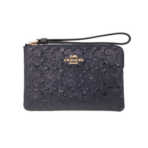 Coach Coachf58034 889532686575 Wristlet in Midnight