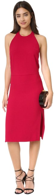 IRO Red Wine Pawla Racerback Mid-length Formal Dress Size 6 (S) IRO Red Wine Pawla Racerback Mid-length Formal Dress Size 6 (S) Image 1