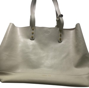 Emma Fox Tote in white