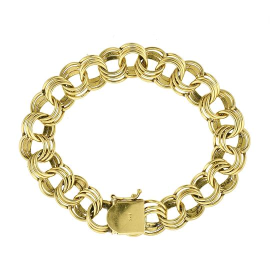Preload https://item1.tradesy.com/images/avital-and-co-jewelry-yellow-gold-8-ladies-14k-circle-link-bracelet-23366525-0-0.jpg?width=440&height=440