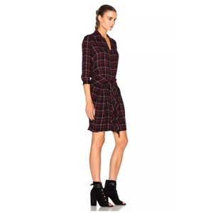 L'AGENCE short dress Midnight on Tradesy
