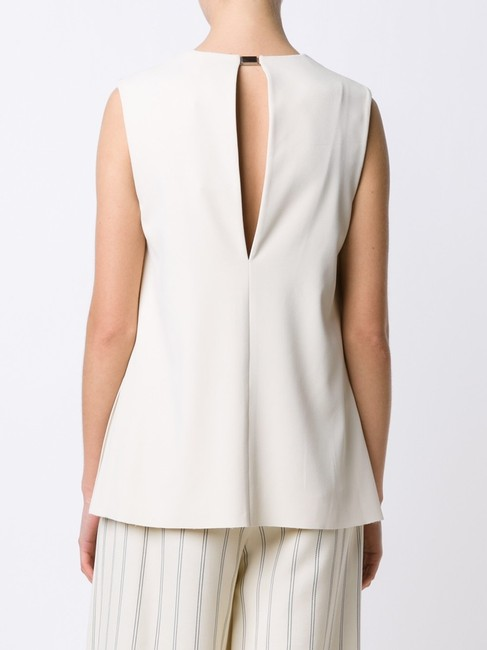 GREY Jason Wu Sleeveless V-neck Polyester Top bone