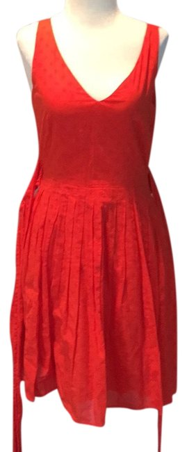 Preload https://item3.tradesy.com/images/jcrew-coral-red-full-skirt-belted-short-casual-dress-size-2-xs-23366552-0-1.jpg?width=400&height=650
