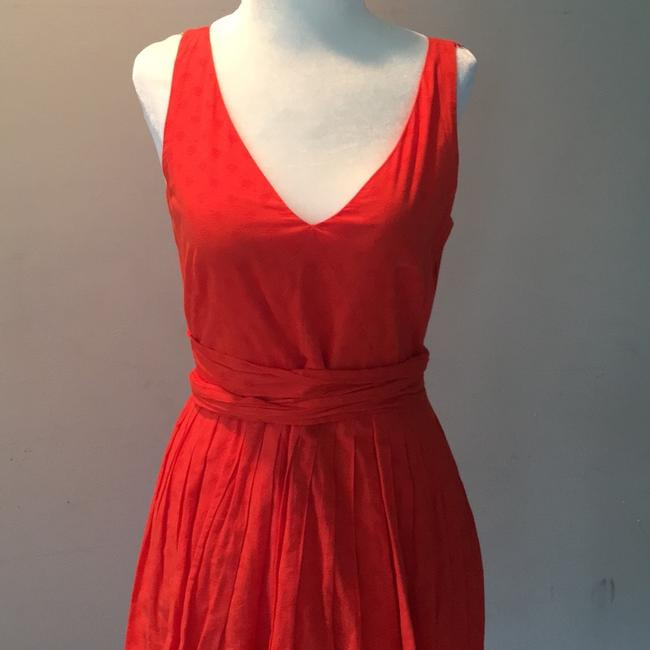 J.Crew short dress coral red on Tradesy
