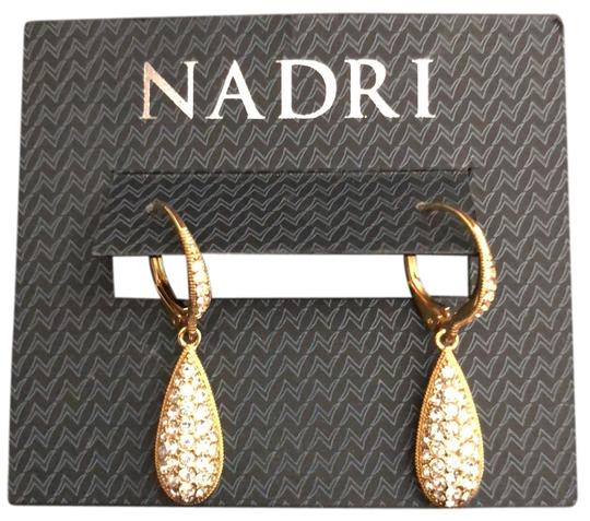 Preload https://item5.tradesy.com/images/nadri-yellow-gold-tone-pave-crystals-teardrops-earrings-23366569-0-1.jpg?width=440&height=440