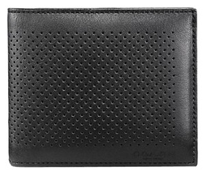 Coach ON SALE! COMPACT ID PERFORATED LEATHER WALLET
