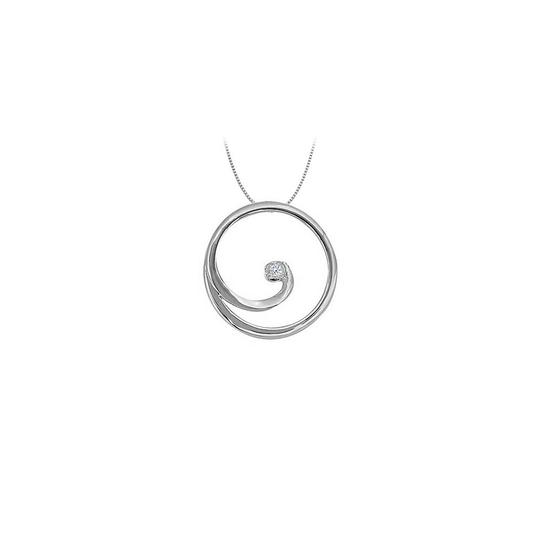 Preload https://img-static.tradesy.com/item/23366605/white-cz-circle-pendant-in-14k-gold-002-ct-tgw-with-gold-chainp-necklace-0-0-540-540.jpg