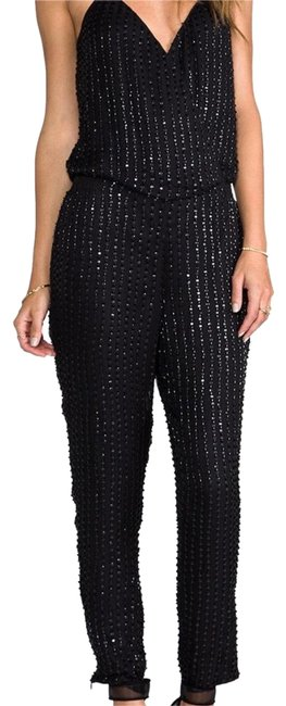 Preload https://img-static.tradesy.com/item/23366654/parker-black-sequin-long-romperjumpsuit-size-4-s-0-1-650-650.jpg