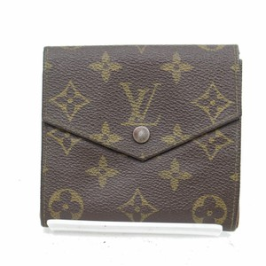 Louis Vuitton Louis Vuitton Monogram Double Snap Wallet with Coin Purse