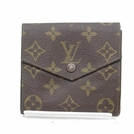 Preload https://item5.tradesy.com/images/louis-vuitton-brown-monogram-double-snap-with-coin-purse-wallet-23366659-0-0.jpg?width=440&height=440