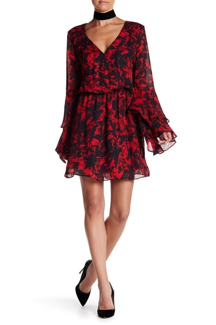 Preload https://item3.tradesy.com/images/parker-black-floral-long-bell-sleeves-mini-short-night-out-dress-size-8-m-23366692-0-3.jpg?width=400&height=650