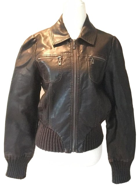 Preload https://item2.tradesy.com/images/xhilaration-brown-bomber-style-motorcycle-jacket-size-4-s-23366696-0-1.jpg?width=400&height=650