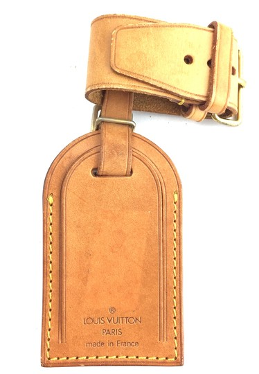 Preload https://item1.tradesy.com/images/louis-vuitton-18644-natural-keepall-alma-leather-luggage-loop-and-tag-set-monogram-logo-23366700-0-1.jpg?width=440&height=440