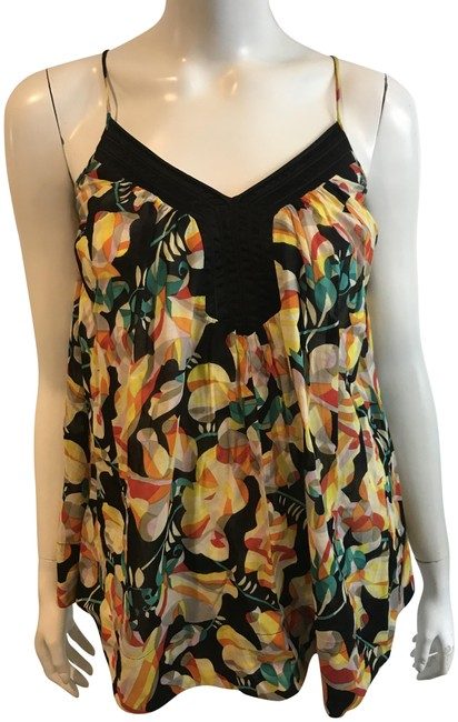 Preload https://item1.tradesy.com/images/french-connection-multicolor-135418-cotton-blend-sleeveless-blouse-size-4-s-23366725-0-1.jpg?width=400&height=650
