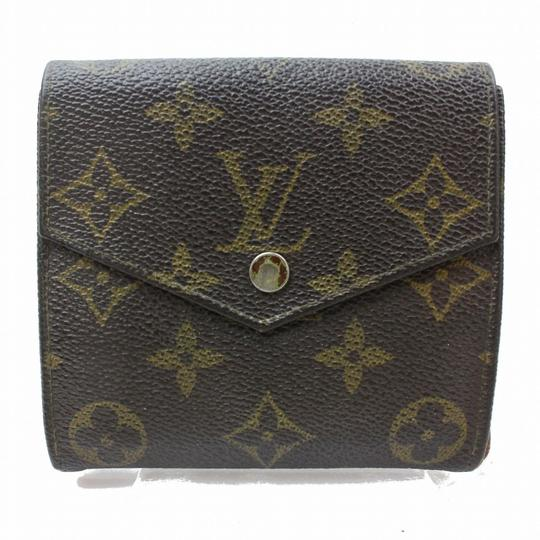 Preload https://item4.tradesy.com/images/louis-vuitton-brown-monogram-double-snap-with-coin-purse-wallet-23366733-0-0.jpg?width=440&height=440